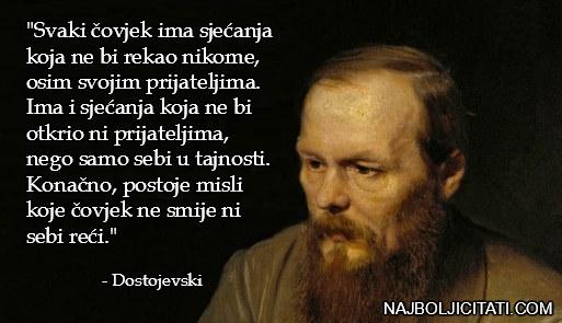 Fjodor Mihajlovič Dostojevski - mudre misli